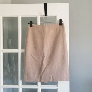 JCrew Wool Pencl Skirt